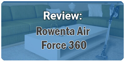 Rowenta Air Force 360 problemas